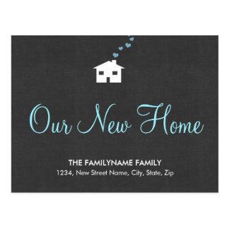 Våra nya hem- adressändringvykort vykort