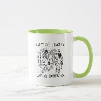 Vara stolt över & döma Darcy & den Bingley Mugg