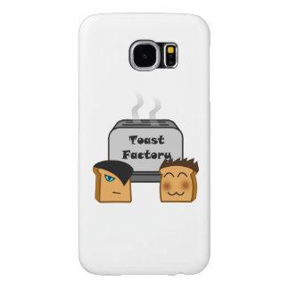 Varar värd Toastie Samsung täcker (knappt där) Samsung Galaxy S6 Fodral