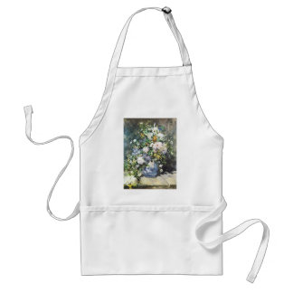 Vårbukett av Pierre Renoir, vintageblommor Förkläde