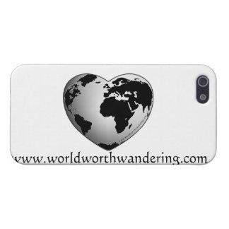 värd irrande iphone case för värld iPhone 5 cover