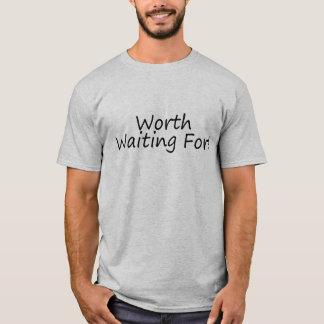 Värd som väntar t shirt