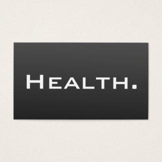 Vård- yrkesmässigt modernt affärskort visitkort