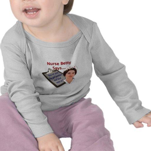 """Vårda Betty något att säga, """"pålagt din stora flic T-shirts"""