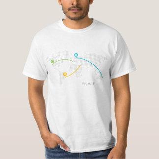 Värdera projekterar Fi-skjortan Tshirts