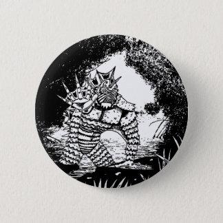 Varelsen från den svart lagunen knäppas standard knapp rund 5.7 cm