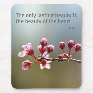 Våren blommar skönhet musmatta