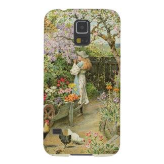 Våren blomstrar, från pearsna Ettårig växt, 1902 Galaxy S5 Fodral