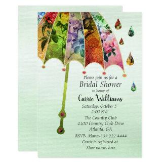 Våren regnar inbjudningskort för möhippan