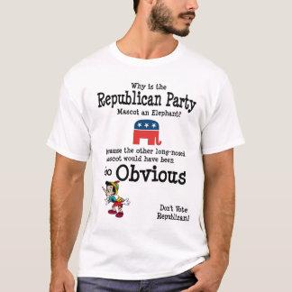 Varför en elefant? tee shirts