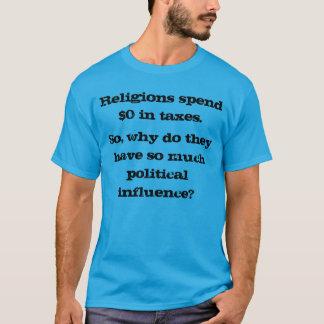 Varför har religioner politisk påverkan? t shirt