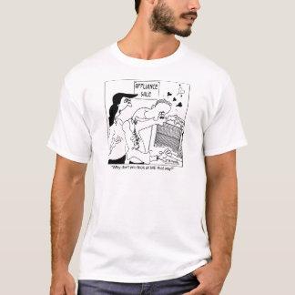 Varför inte ser du MIG ditåt? T-shirt