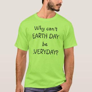 Varför kan inte jorda en kontakt dag att vara t-shirt