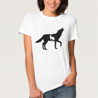 Varg och kanin t-shirt