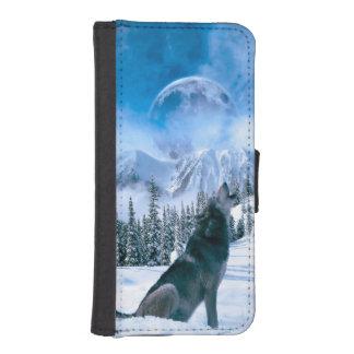 Vargappell iPhone SE/5/5s Plånboksfodral