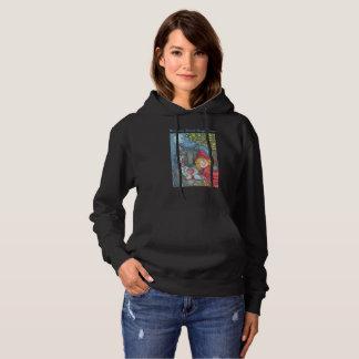 Varger behöver kramar för, HOODED TRÖJAkvinnor T-shirts