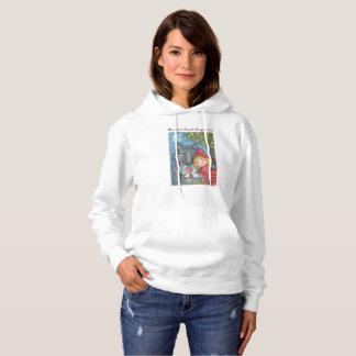 Varger behöver kramar för, HOODED TRÖJAkvinnor Tee Shirt
