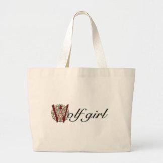 Vargflicka Tote Bag