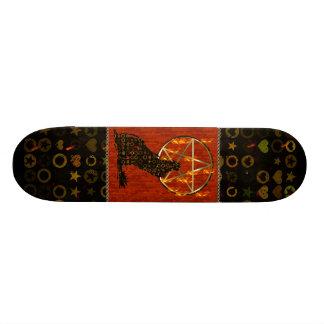 VargPentagram Skateboard Bräda 20 Cm