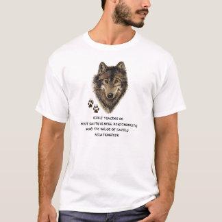 Vargtotemen, djur vägleder inspirera tee shirts