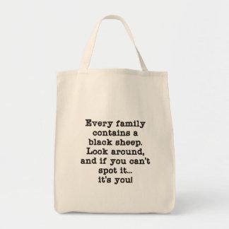 Varje familj har svart får kasse