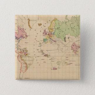 Värld 2 standard kanpp fyrkantig 5.1 cm
