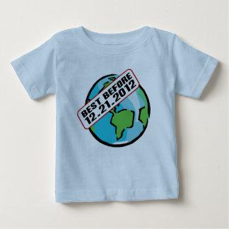 Värld som är bäst för 12.21.2012 t-shirts