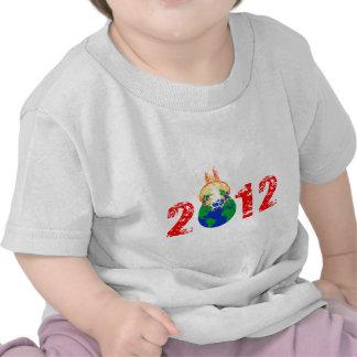 Värld som exploderar i 2012 tee