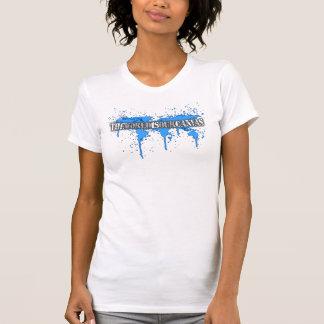 världen är vår kanfas t-shirt