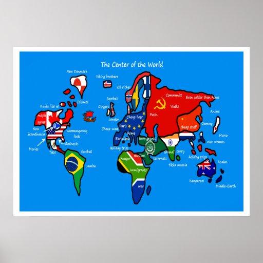 Världen enligt skandinav posters