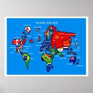 Världen enligt skandinav poster