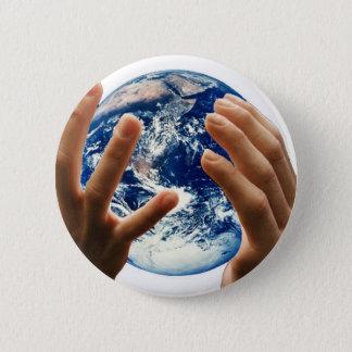 världen/jord är min standard knapp rund 5.7 cm