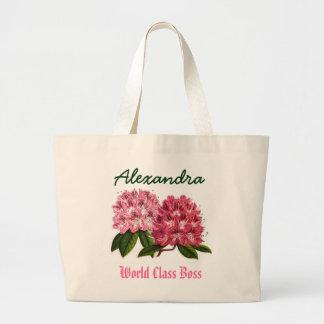 Världen klassificerar Rhododendron för Jumbo Tygkasse