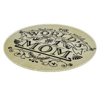 Världen numrerar en mammavintagekrusidull