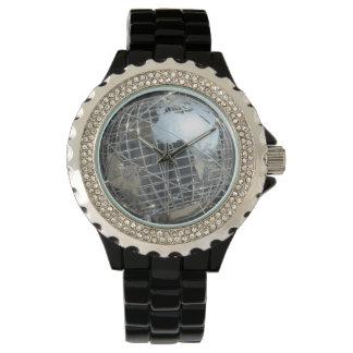 Världen tar tid på armbandsur