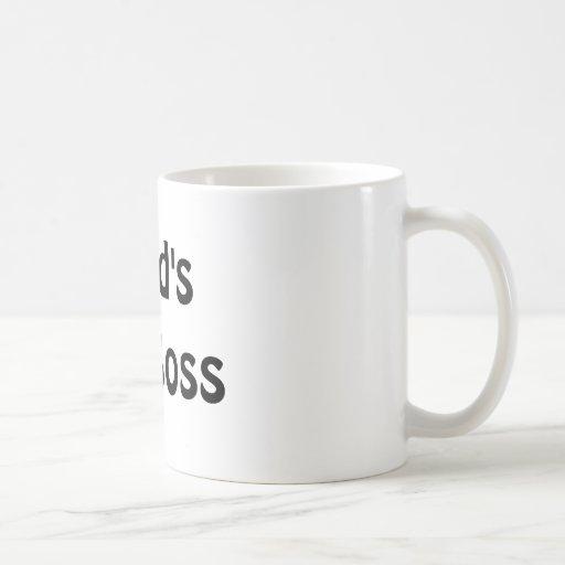Världens bäst chef kaffe kopp