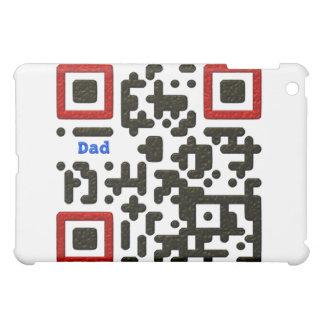 Världens kodifierar bäst pappa QR iPad Mini Skydd