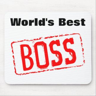 Världens vadderar den bäst chefmusen musmattor