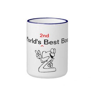 Världs 2nd bäst chef ringer mugg