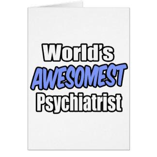 Världs Awesomest psykiater Hälsningskort