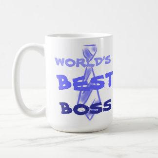 Världs bäst anställd för arbetsgivare för chefkont kaffe koppar