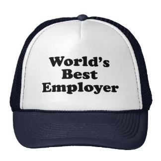 Världs bäst arbetsgivare keps