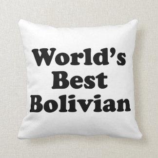 Världs bäst bolivianskt kudde