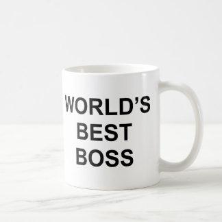Världs bäst chef kaffemugg