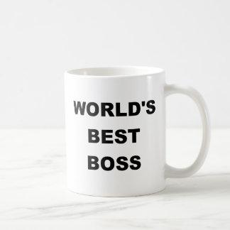 Världs bäst chef kaffe mugg