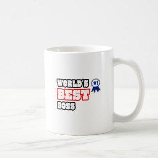 Världs bäst chef kaffe muggar