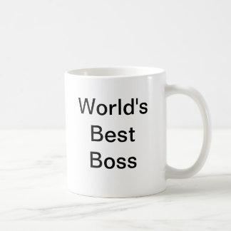 Världs bäst chef muggar