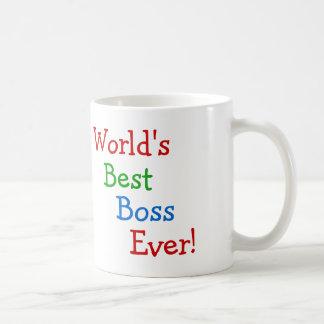 Världs bäst chef någonsin kaffemugg