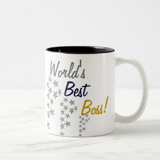 Världs bäst chef Två-Tonad mugg
