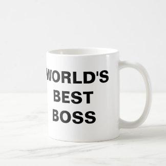 Världs bäst chef vit mugg